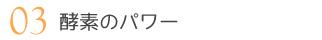 03 酵素のパワー